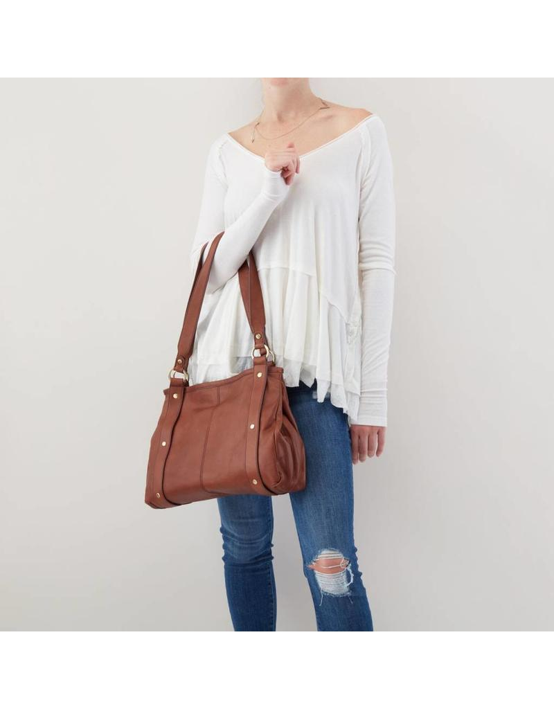 Hobo Pinion Shoulder Bag