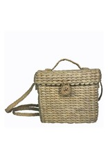 Hat Attack Wicker Crossbody Natural