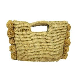 Hat Attack Handheld Satchel Natural