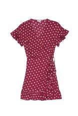 Rails Ruffle Sleeve Empire Waist Dress
