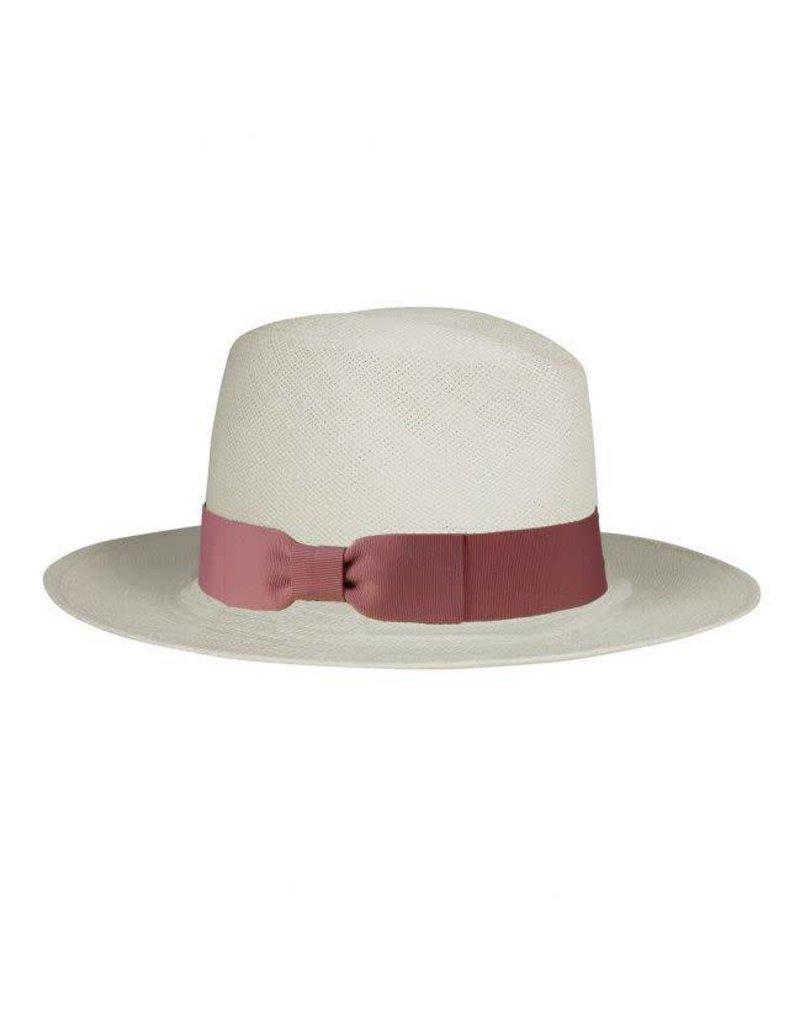 Hat Attack Straw Panama Hat Blush