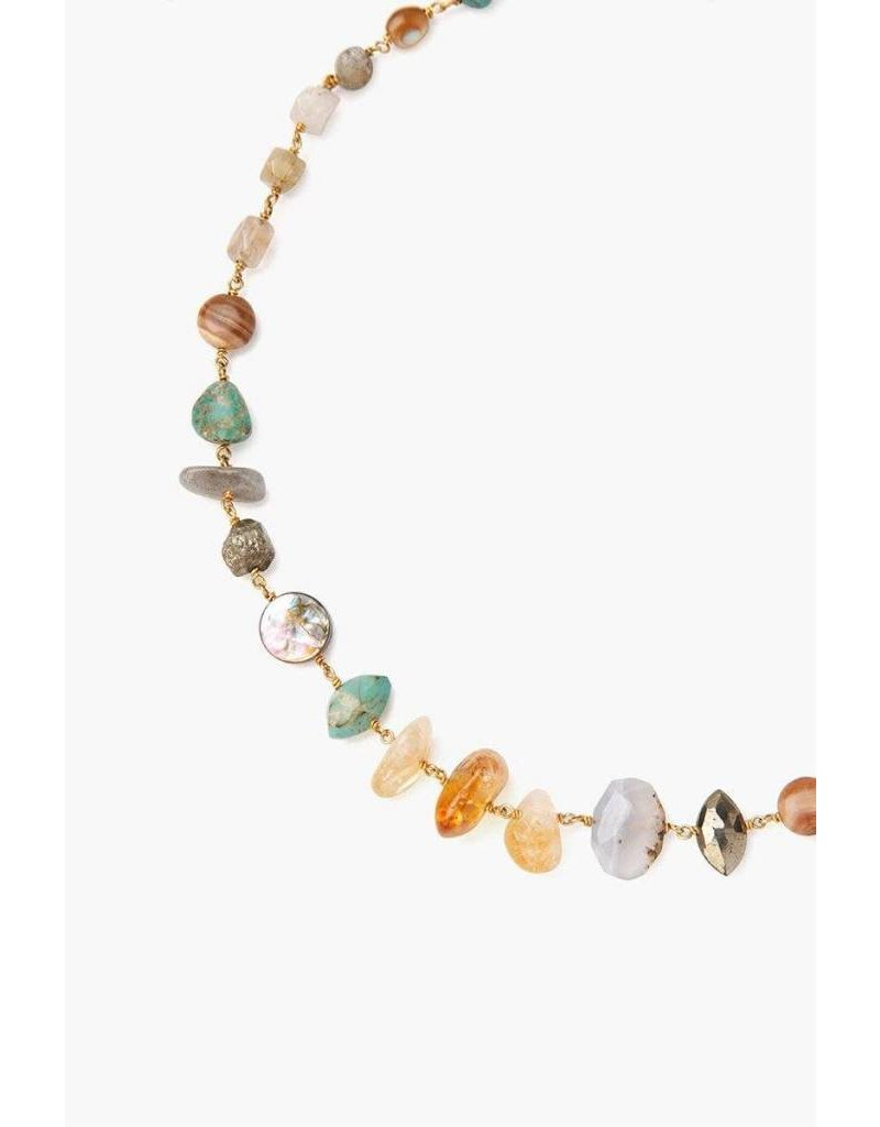 Chan Luu Citrine Mix Short Necklace