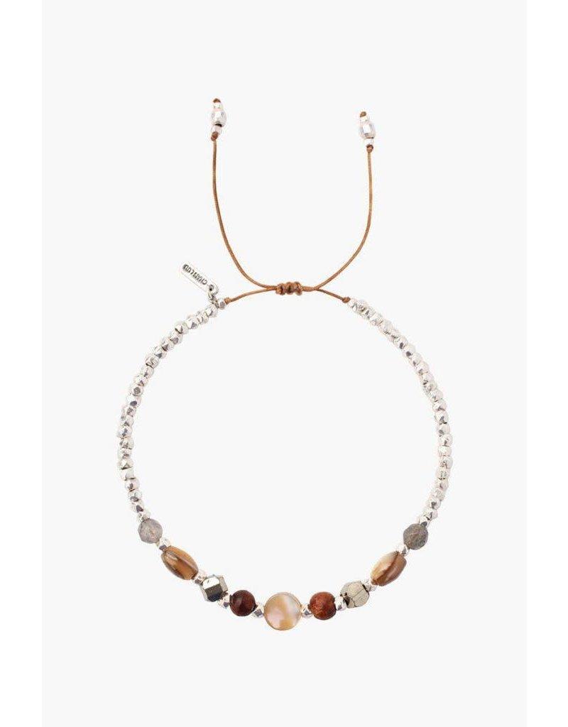 Chan Luu Mix Pull Cord Bracelet