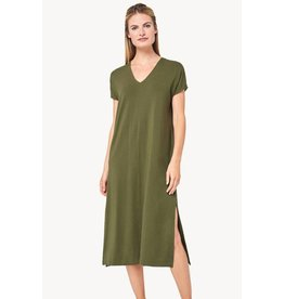 Lilla P Double V-neck Dress