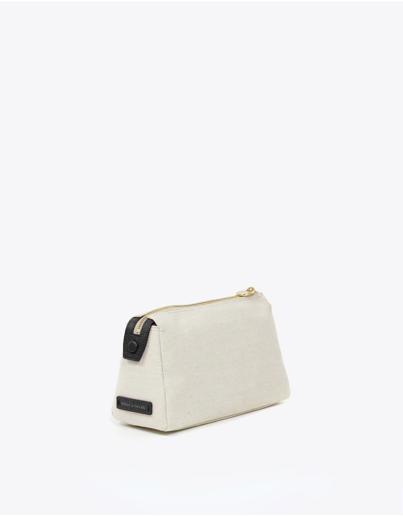 Neely & Chloe Small Canvas Pouch