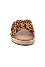 J Slides Leopard Print Sandal
