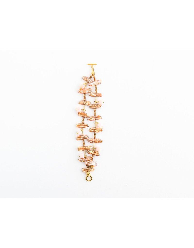 Catherine Page Jewelry Bartlett Geometric Stone Bracelet