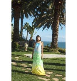 Amanda Uprichard Tie Dye Maxi Dress
