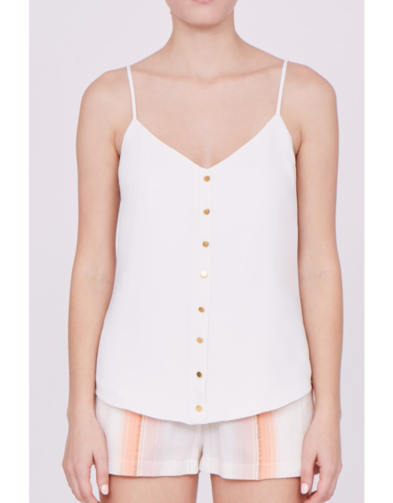 Amanda Uprichard Button Front Cami