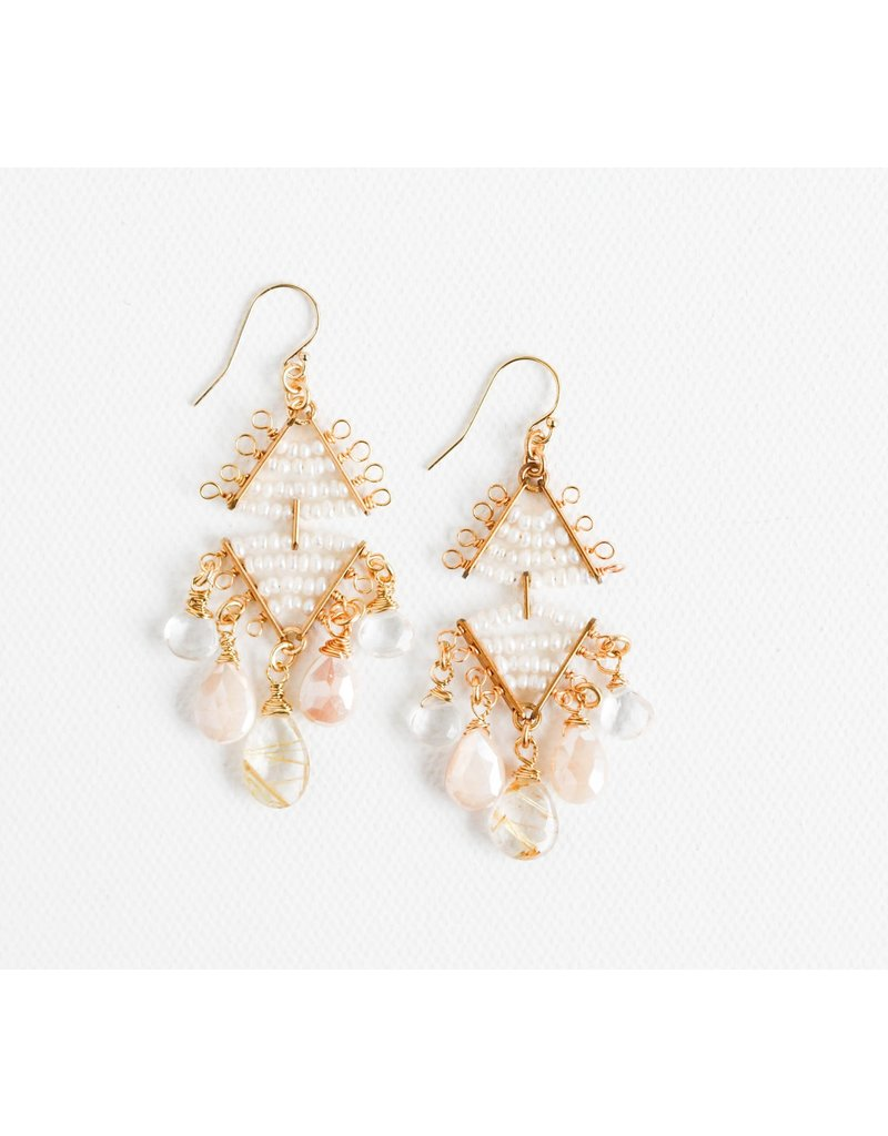 Catherine Page Jewelry Toulouse Double Beaded Earring