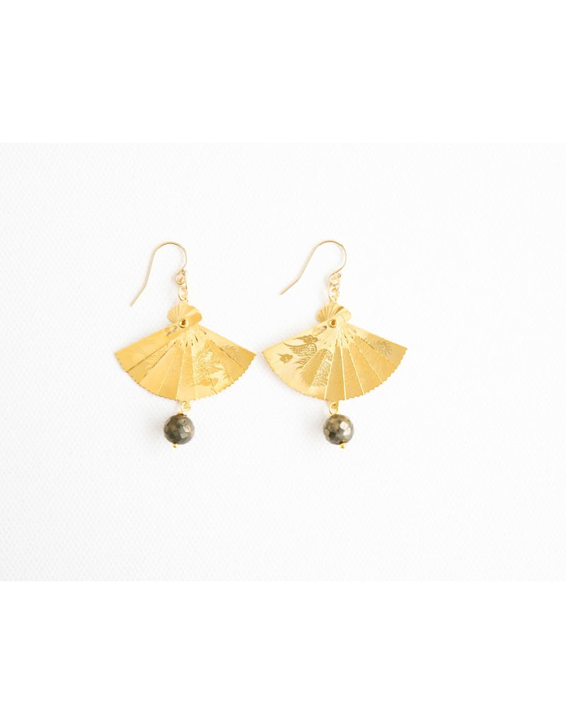 Catherine Page Jewelry Sweep Fan Earring