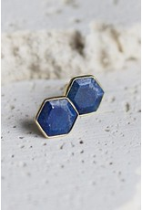 Joya Brooklyn Stud Lapis
