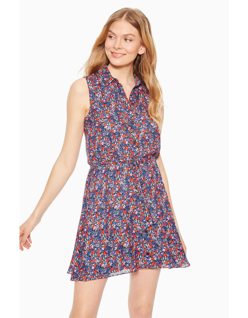 Parker Printed Button Up Dress