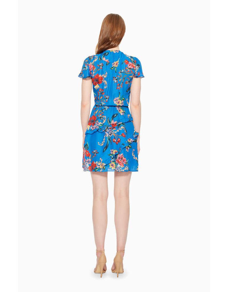 Parker V-neck Floral Print Dress