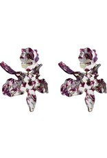 Lele Sadoughi Paper Lily Earring