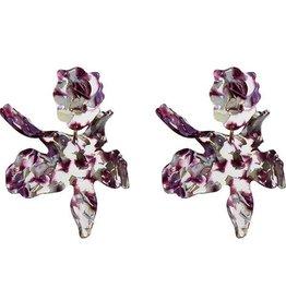 Lele Sadoughi Paper Lily Earring