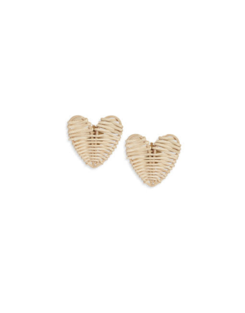 Neely Phelan Tiny Heart Stud Earrings