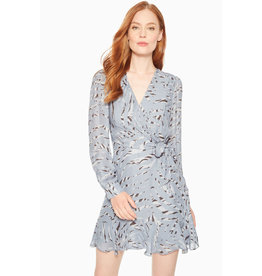 Parker Printed Wrap Dress