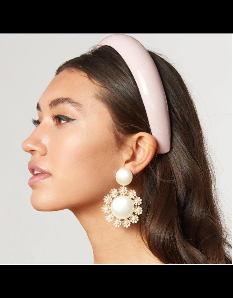 Lele Sadoughi Padded Headband Blush Gloss