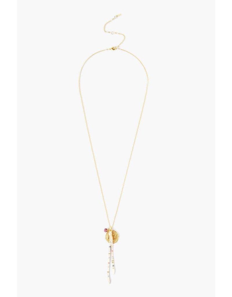 Chan Luu Chain Fringe Necklace