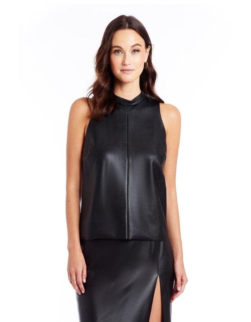 Amanda Uprichard Leather Top