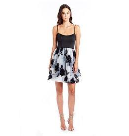 Amanda Uprichard Floral Empire Waist Dress