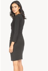 Lilla P Faux Wrap Dress