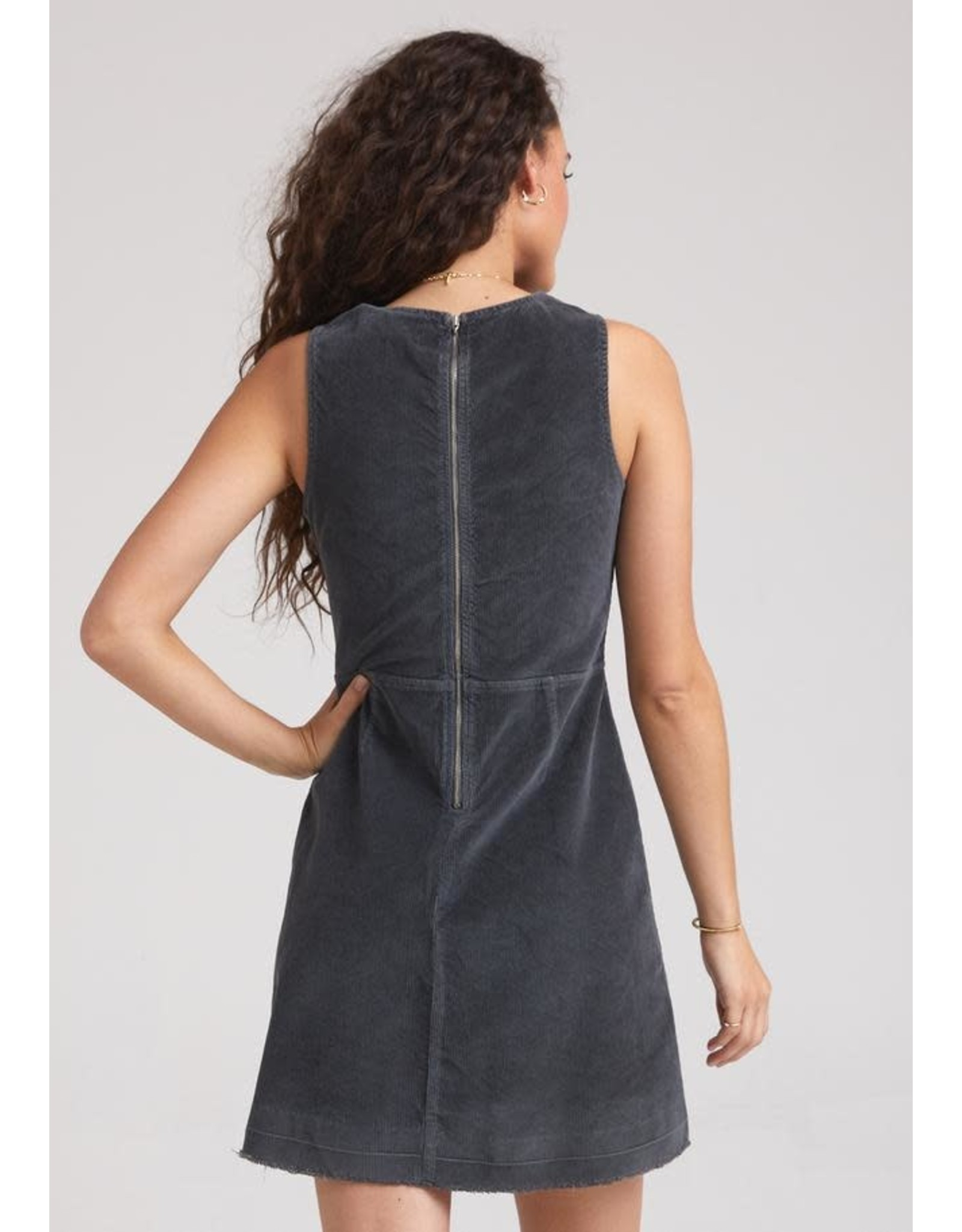Bella Dahl Fitted Zip Back Dress