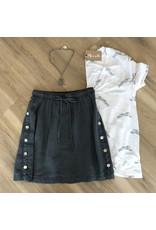 Bella Dahl Side Button Skirt
