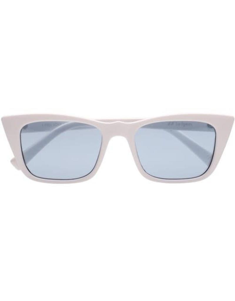 Le Specs I Feel Love Sunglasses Optic White