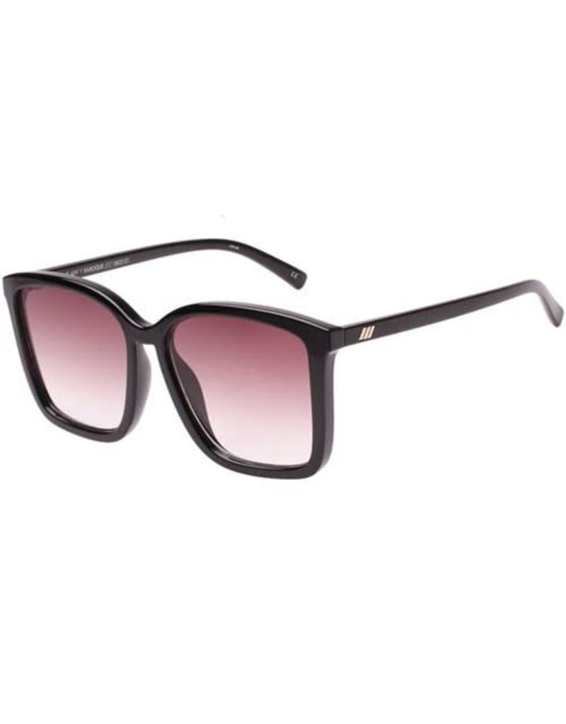 Le Specs It Aint Baroque Sunnies-Black