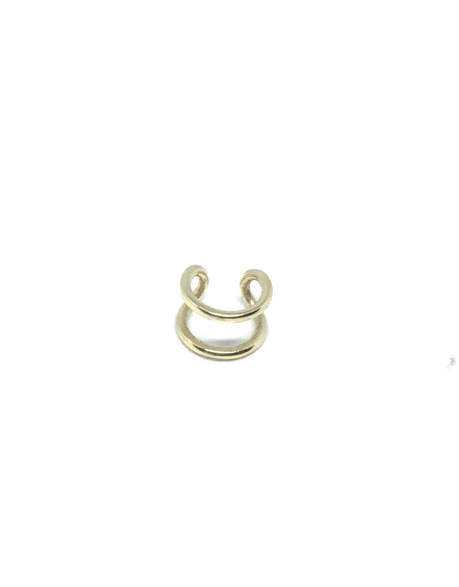 Bague d'oreille double Or 10K