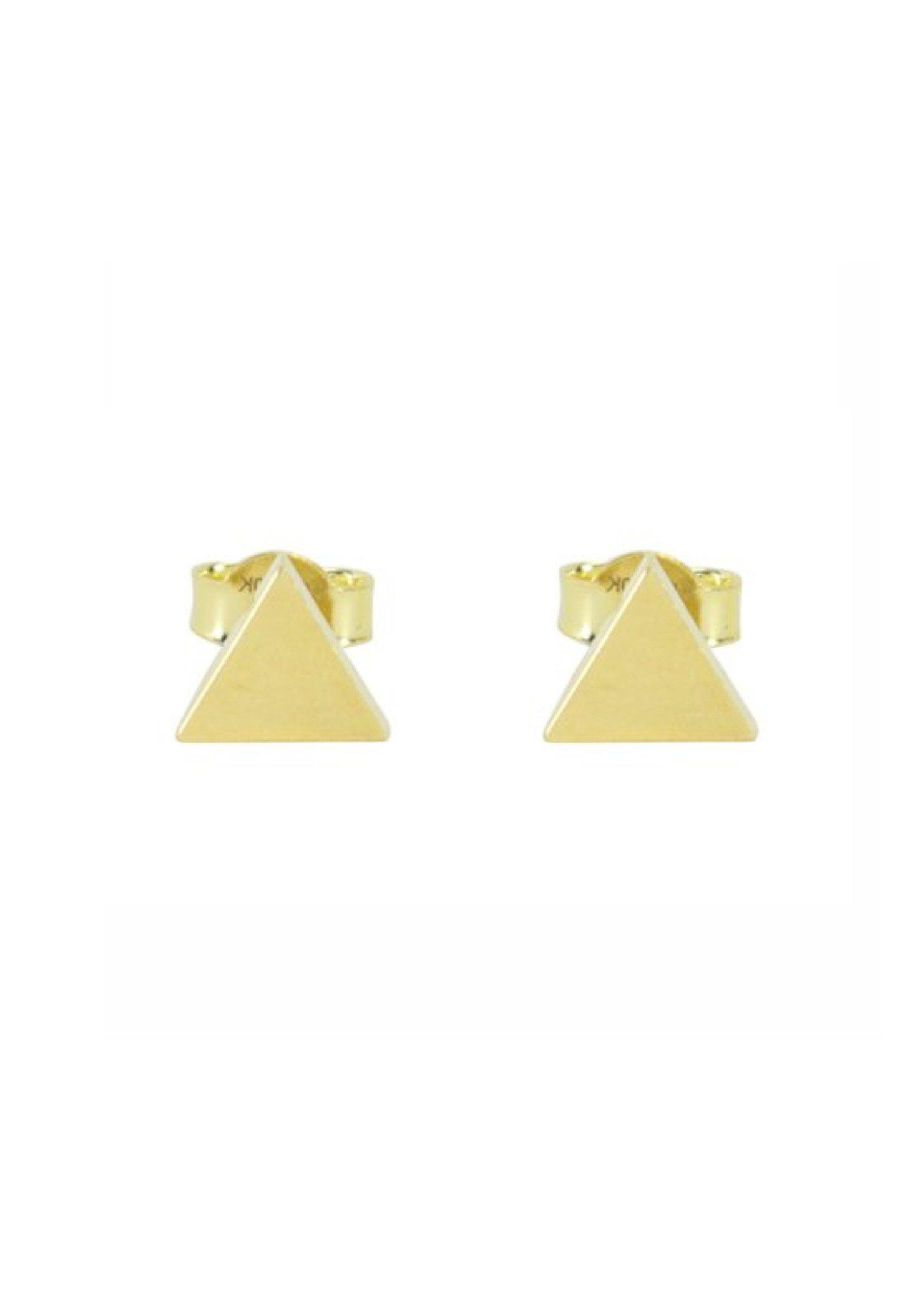 Boucles d'oreilles Triangles Stud  Or 10K
