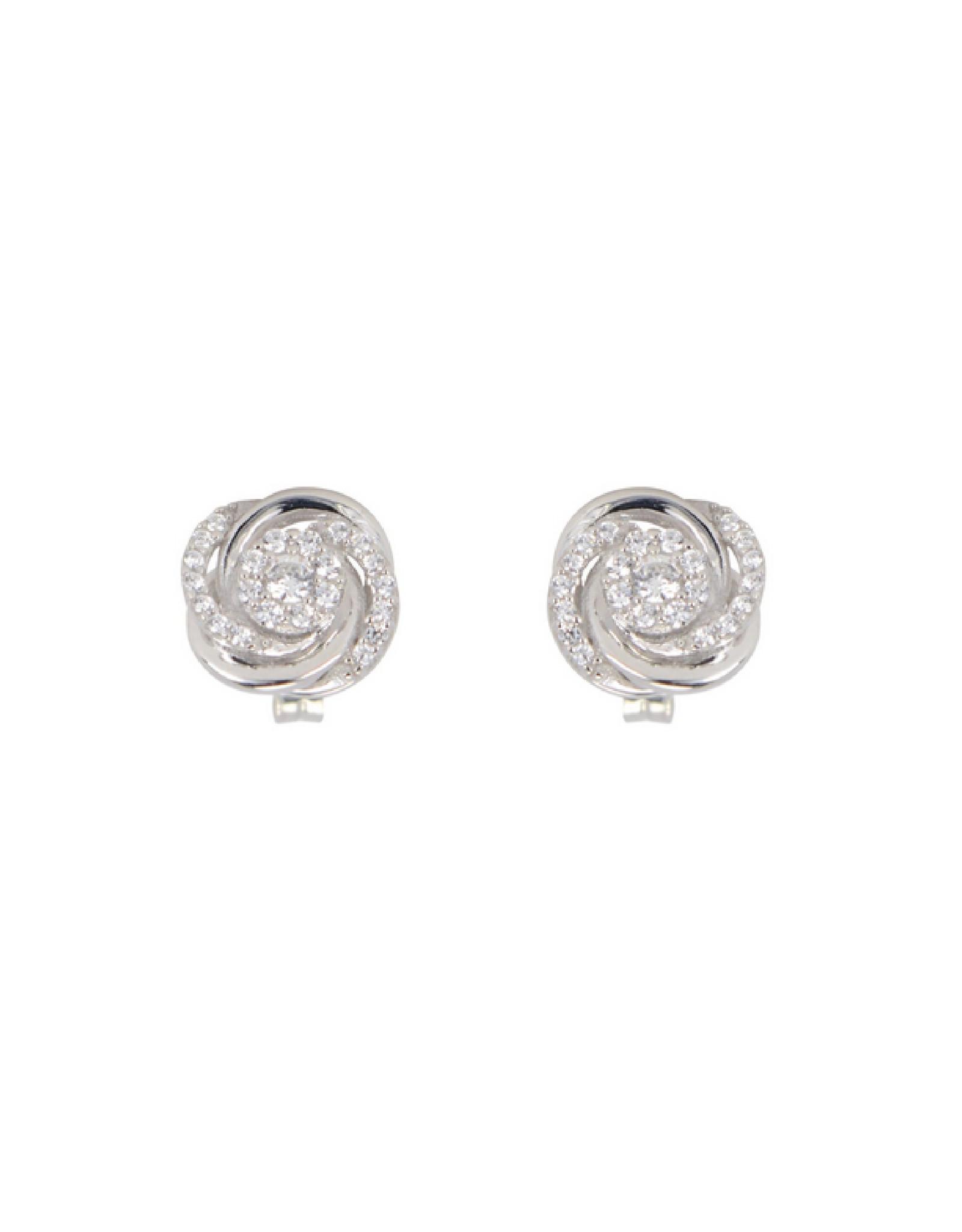 Boucles d'oreilles fleurs Or 10K