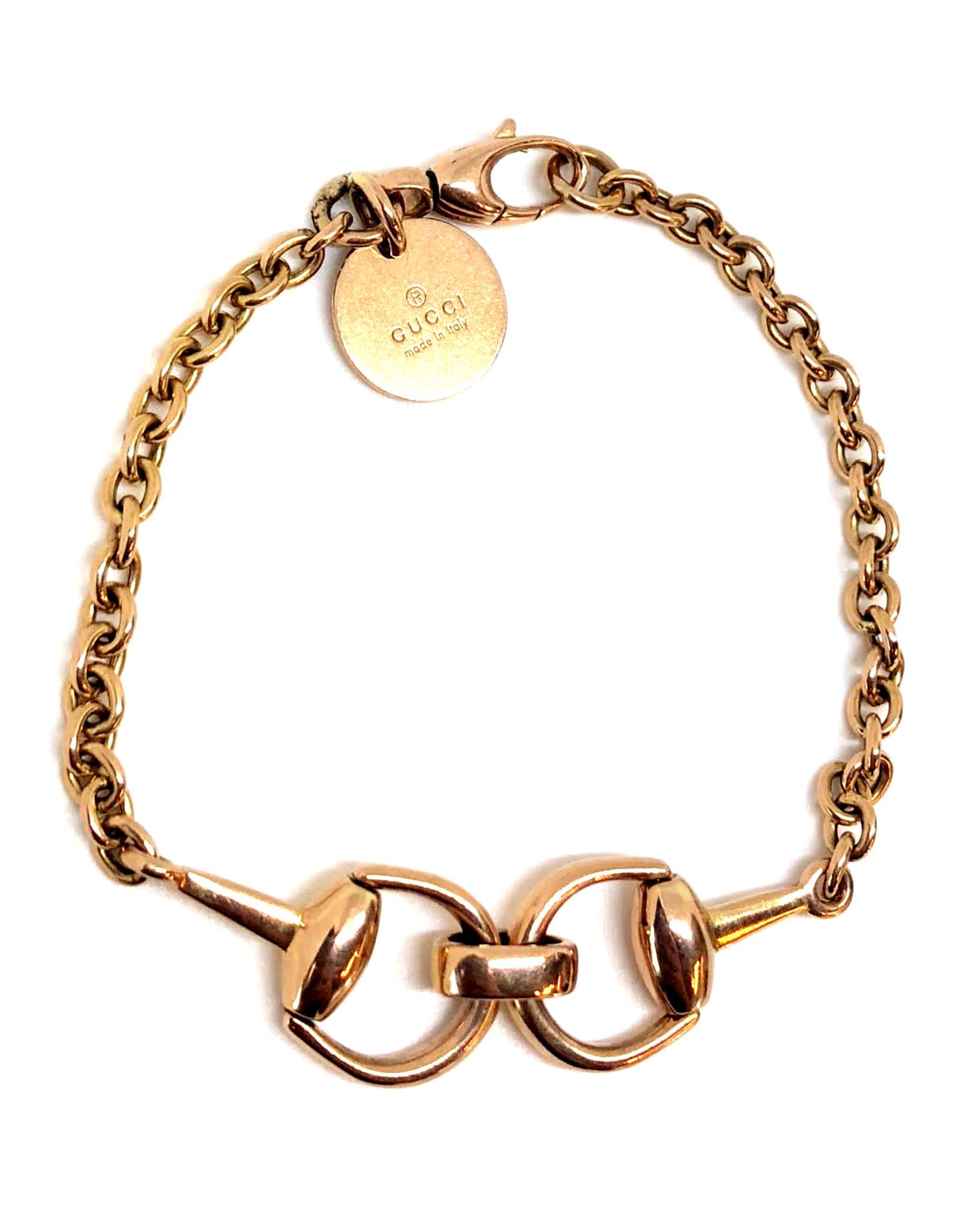 Bracelet Gucci Or rose 14K