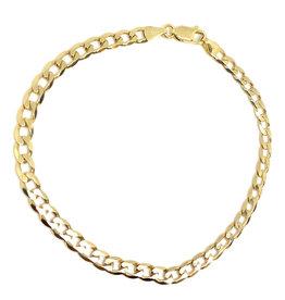 Bracelet Gourmette Or 10K