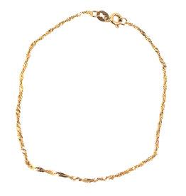 Bracelet Singapour Or 10K