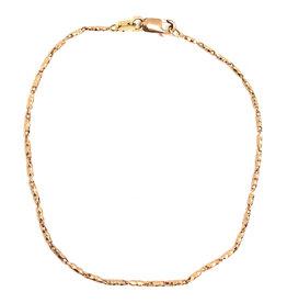 Bracelet Raso Or rose 10K