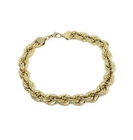 Bracelet Torsade Or 10K