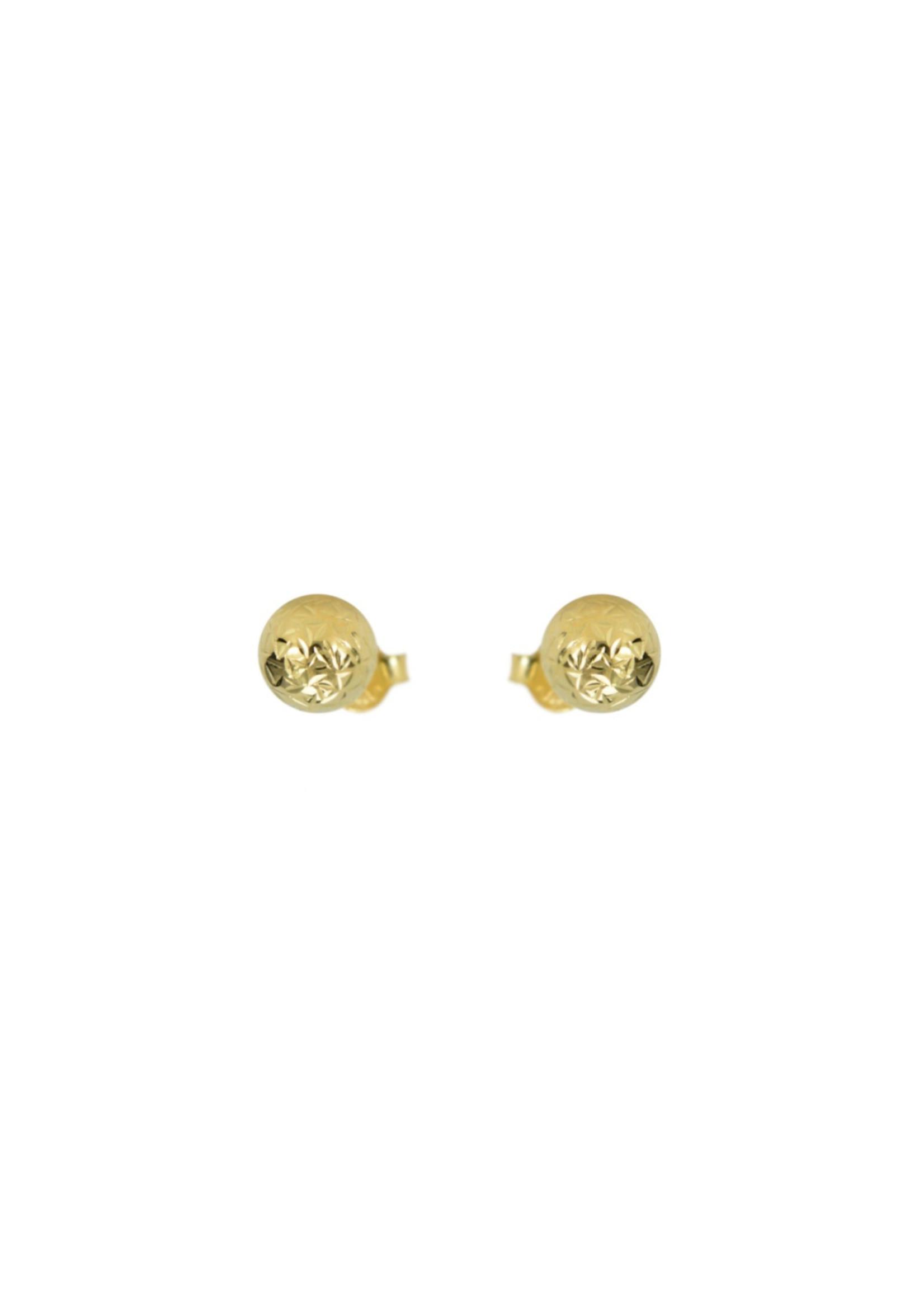 Boucles d'oreilles Boules Stud Or 10K