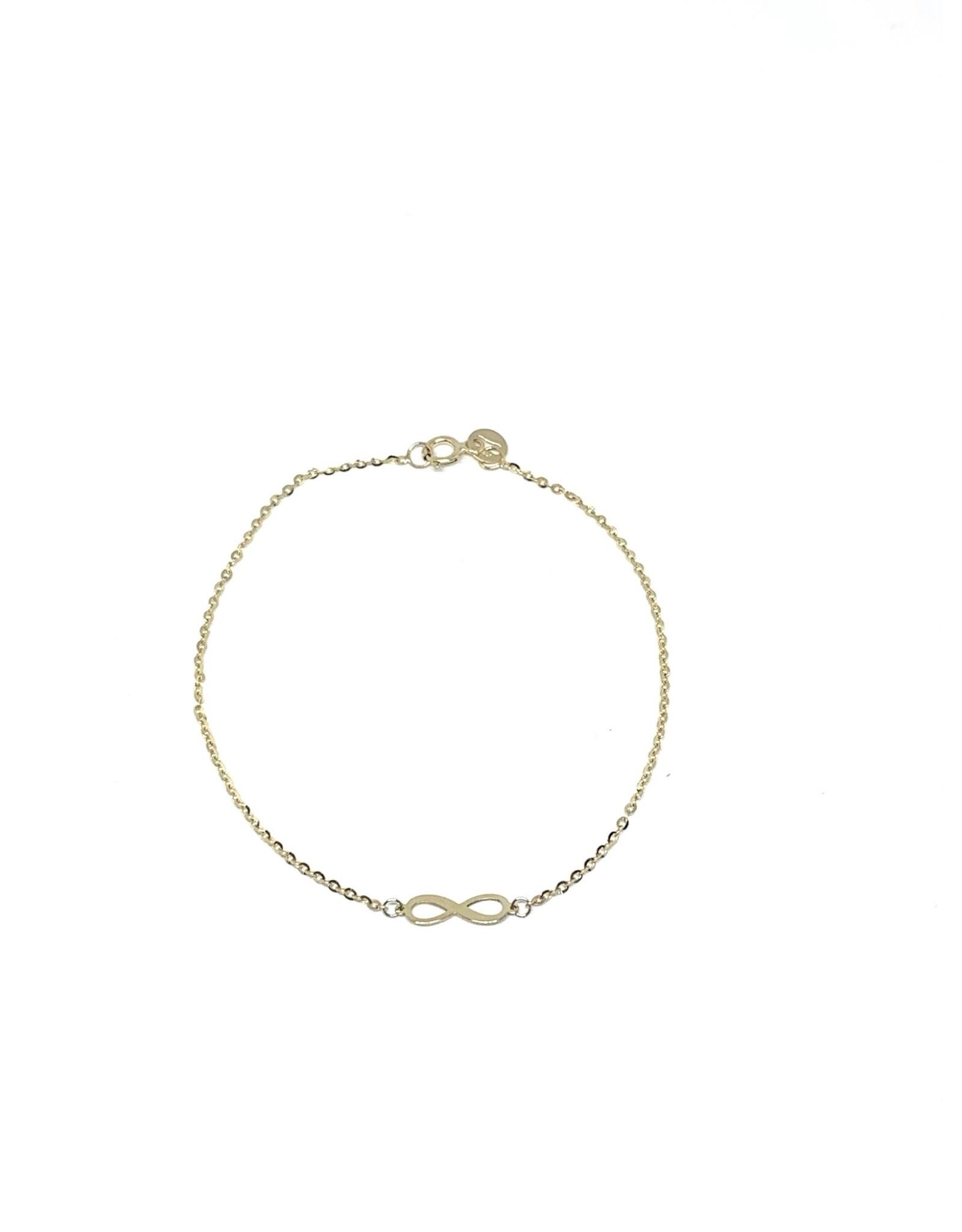 LokÜs Bracelet forçat infini Or 10K