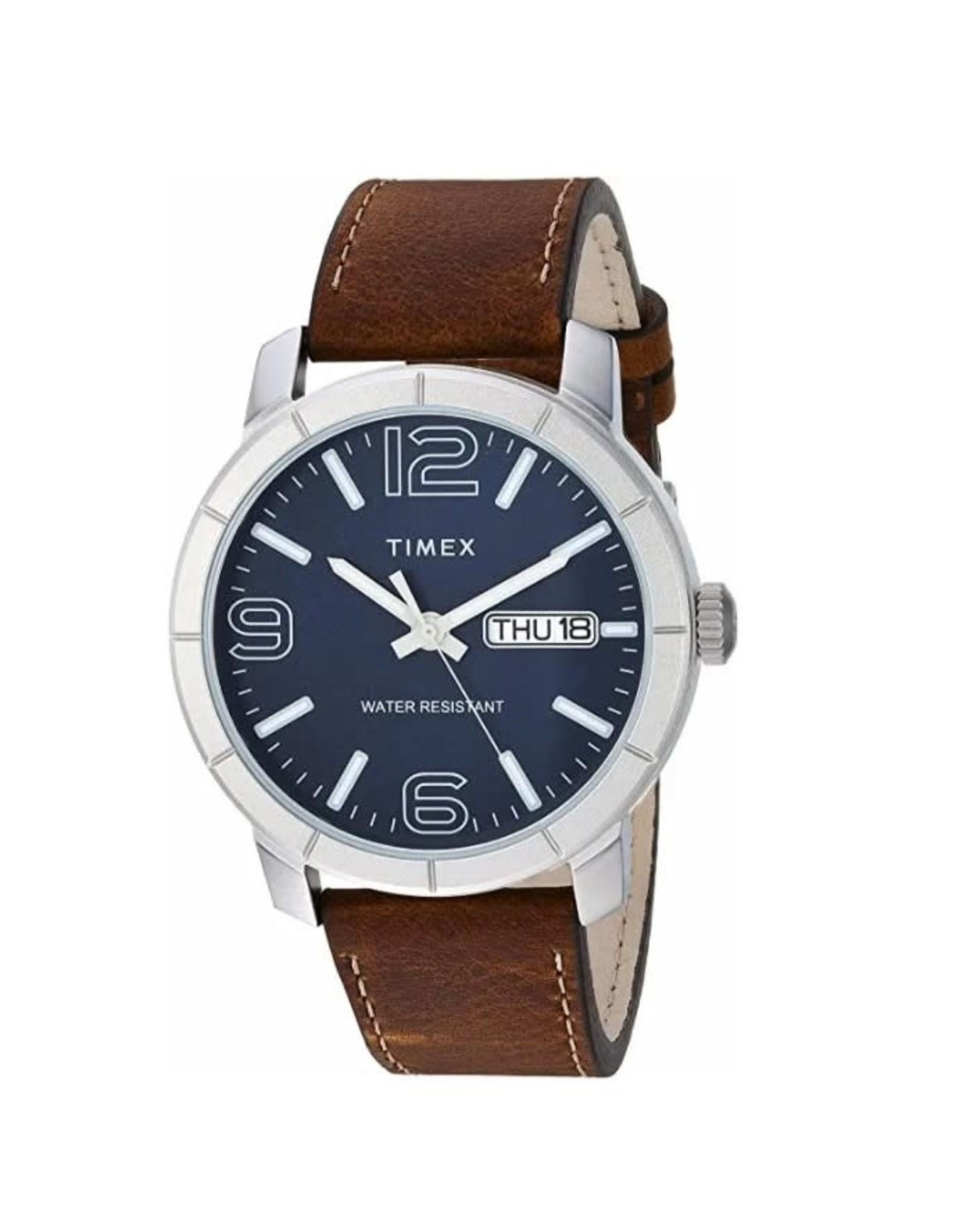 Timex Montre Timex Bracelet Brun