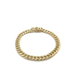 PARÉ Bracelet Homme Miami Cuban Or 10k