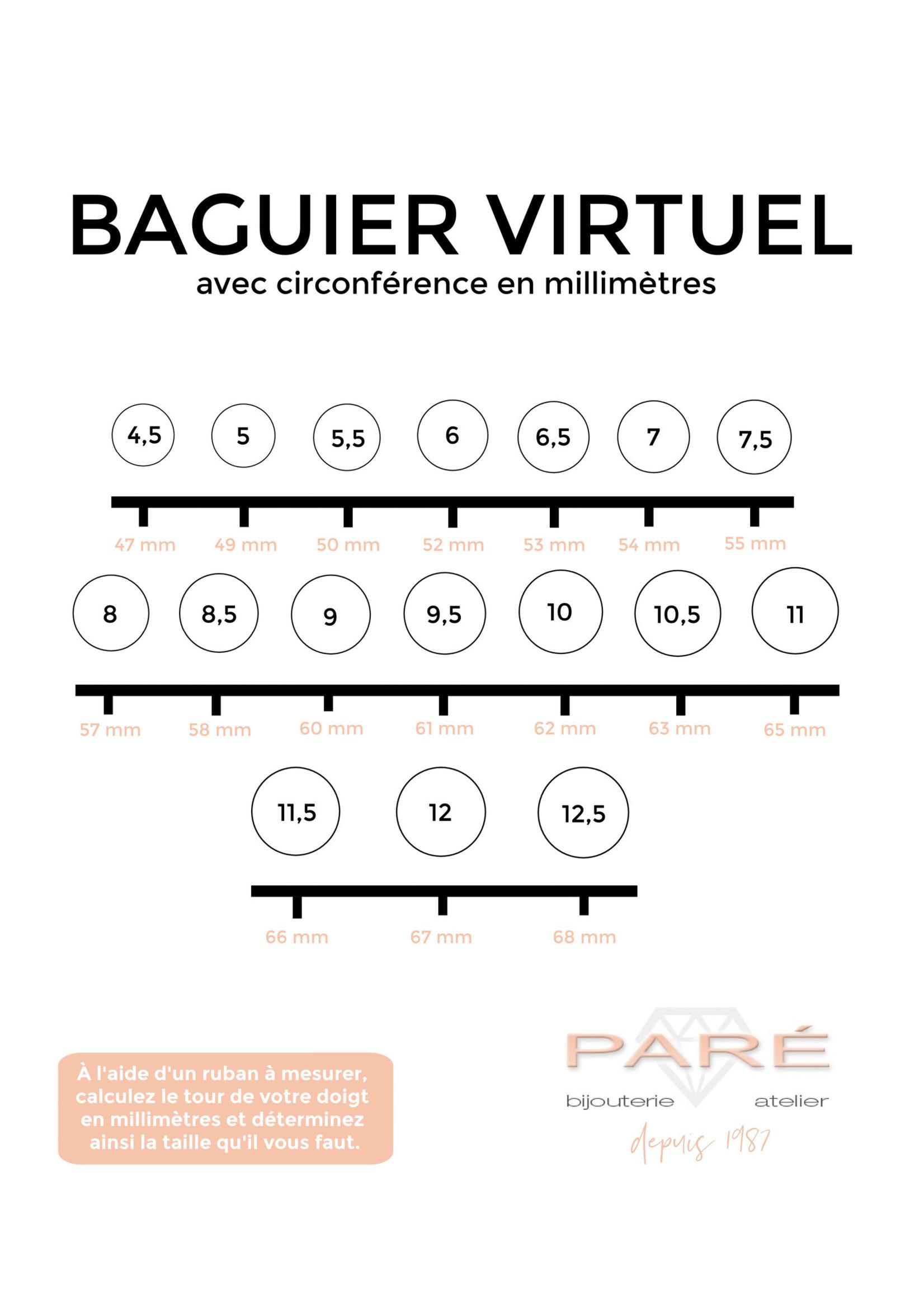 PARÉ Bague Homme Chevalière Versace en Or 10k  Pierre Bleue