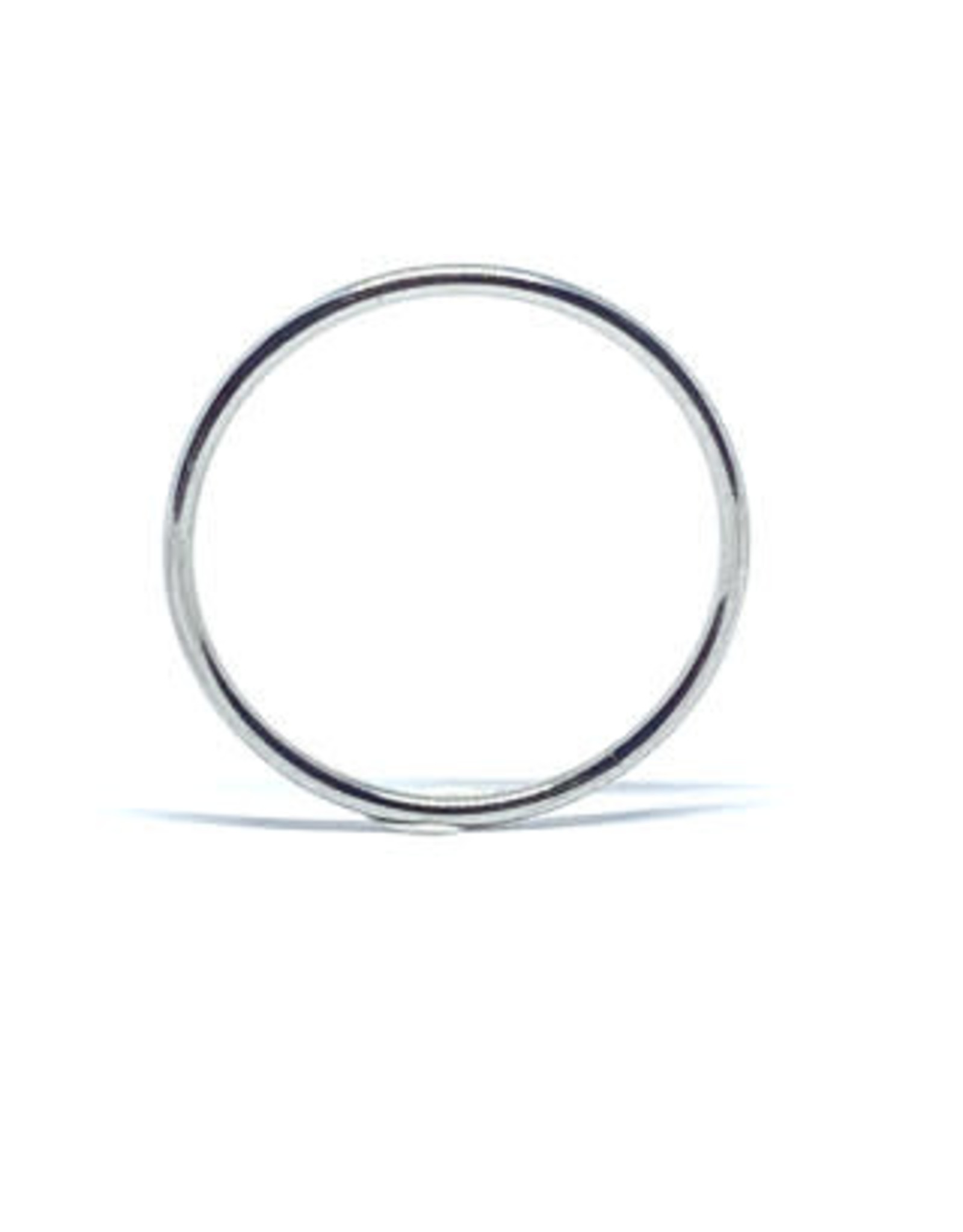 LokÜs «Stackable rings» 3 joncs fins en Or 10k