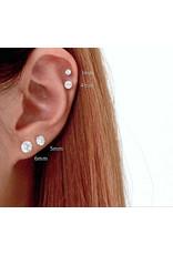 Boucles d'oreilles Stud Or 10K