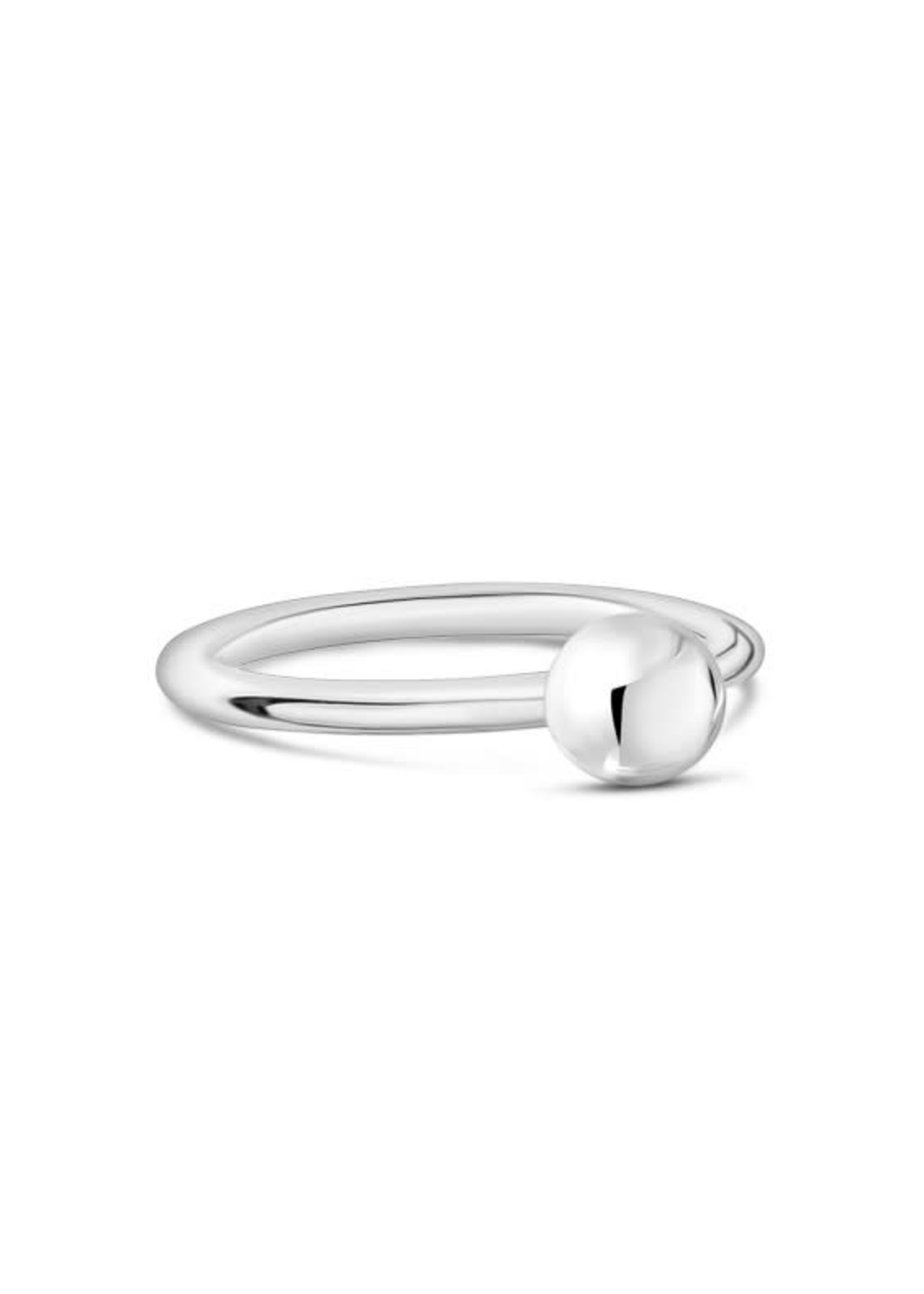 PARÉ Bague ''Sphère'' Steel