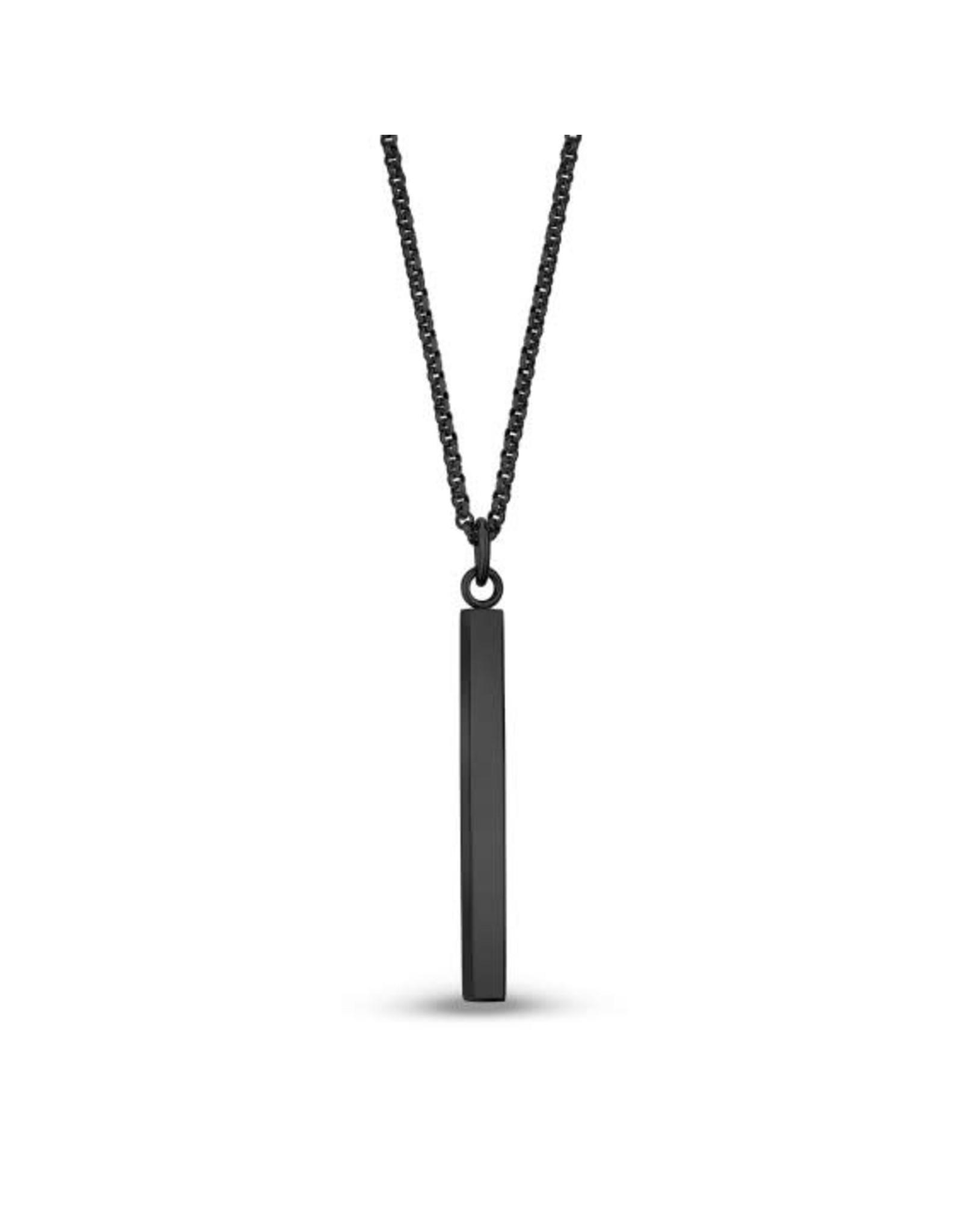 PARÉ Chaîne et pendentif Barre Steel