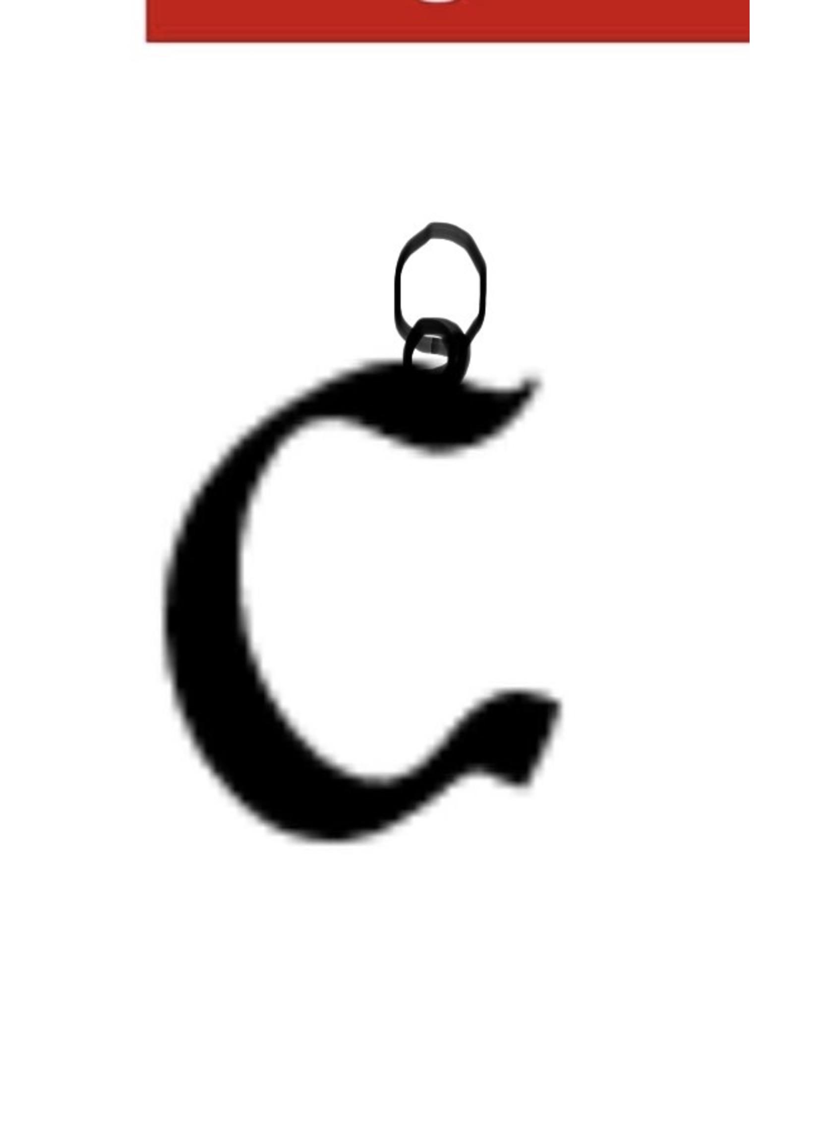 PARÉ Création Breloque «C» 10kY