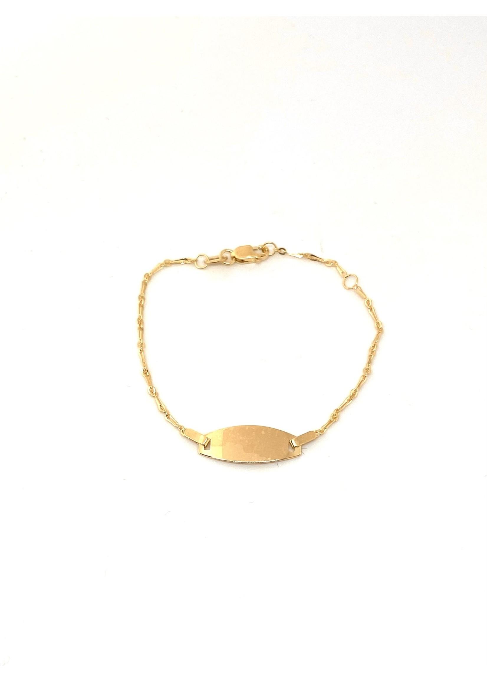 Bracelet ID Pour Enfant Or 10K